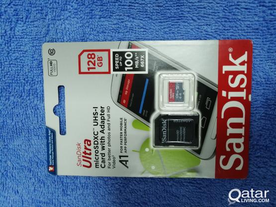 Sandisk A1 Super Fast SD card -128GB