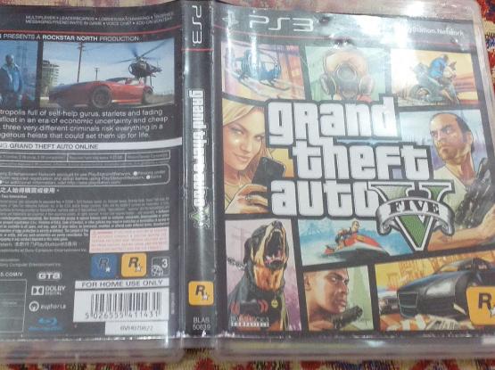 gta5 CD ps3