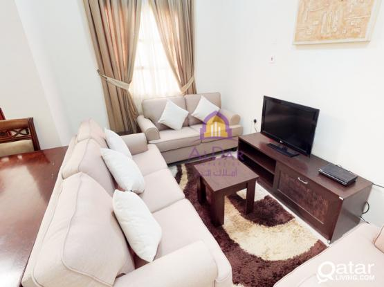 No Commission - Furnished 1BHK in Fereej Abdel Aziz with 2 months free
