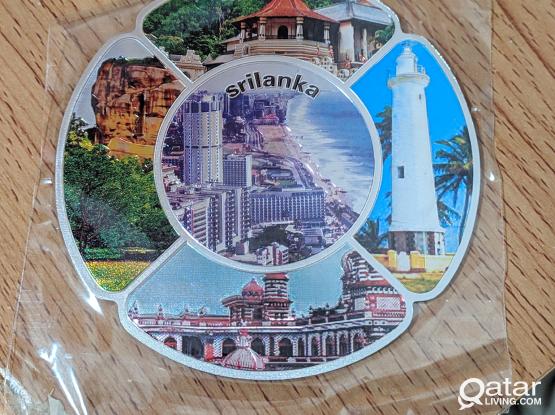 Magnetic Souvenir Sri Lanka