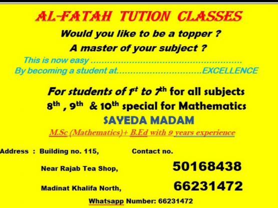 MATHS Tution classes
