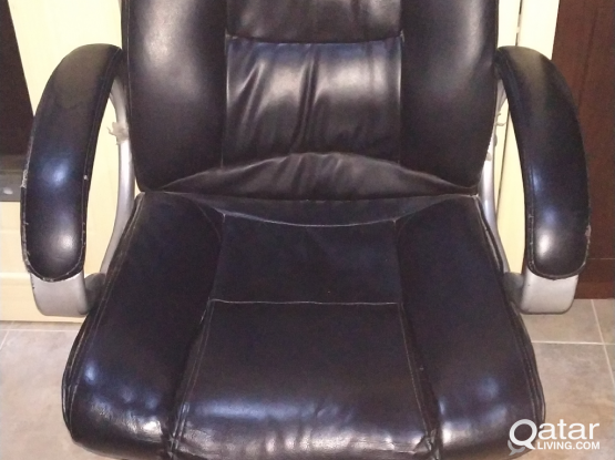 Office Rolling Chair and cupboard for sale