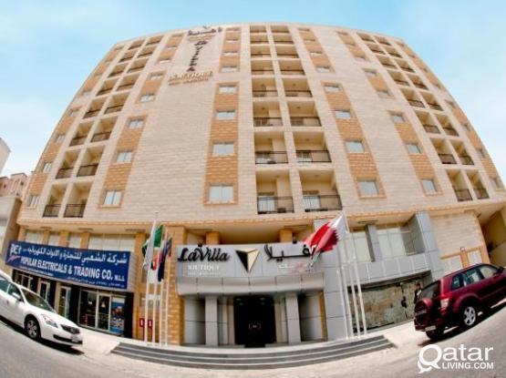 **LA VILLA INN Hotel Apartments** Behind Crown Plaza**
