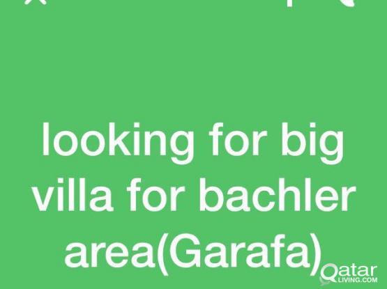Need full villa area garafa