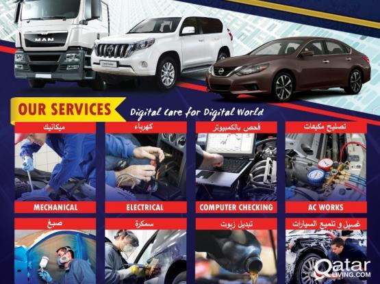 Garage & Service Station @ Al Khor