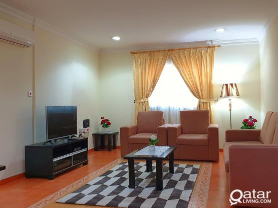 NO COMMISSION F/F 3BHK WITH GYM and wifi old salatha Behind National museum of Qatar