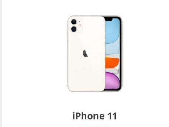 iPhone 11 bark black colour 128 Gb