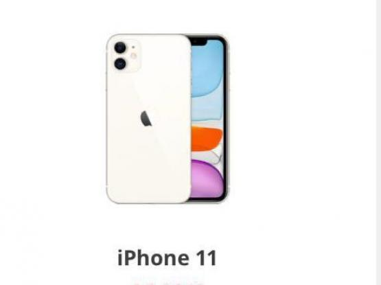 iPhone 11 dark black new 128gb