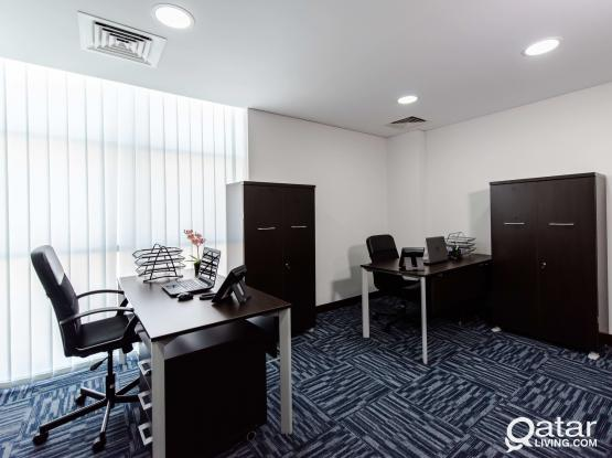 Fully serviced Office 20sqm in Barwa Commercial Avenue (PROMO PRICE NO COMMISSION!!)
