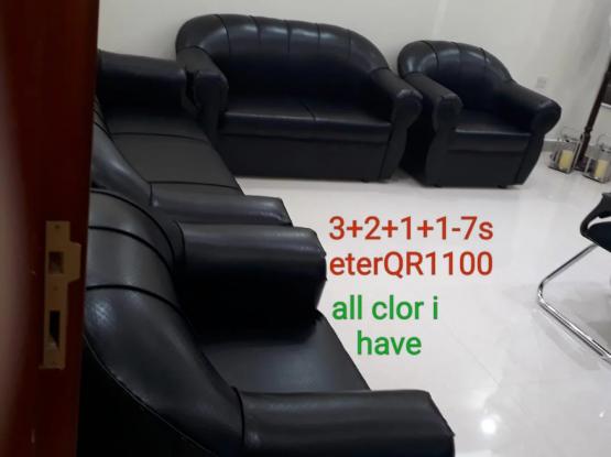 brand new sofas for sell 3+2+1+1= 7 seter QR 1100