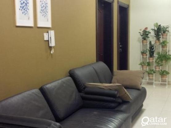 EXECUTIVE BACHELOR ACCOMMODATION NEAR METRO AL DOHA AL JADEDA  FREE WIFI, CLEANING, SECURITY AND MAINTENANCE