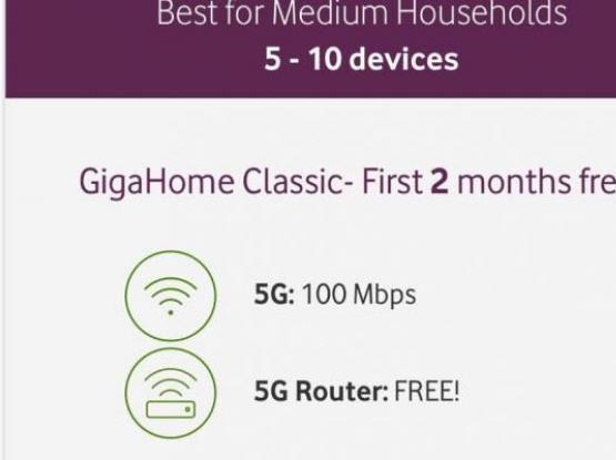 GigaHome 5G [WiFi] Offer