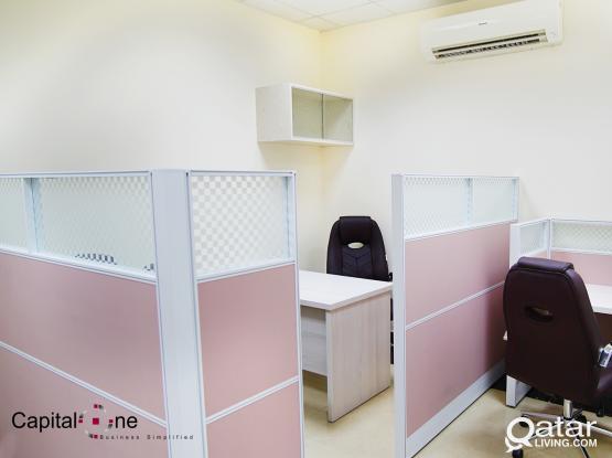 FF Office Space ( incl W&E + FREE Internet) - Salwa Road
