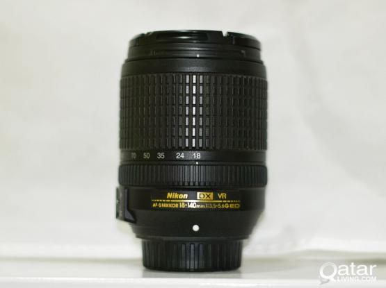 Nikon VR Lens 18-140 f3.5-5.6G ED