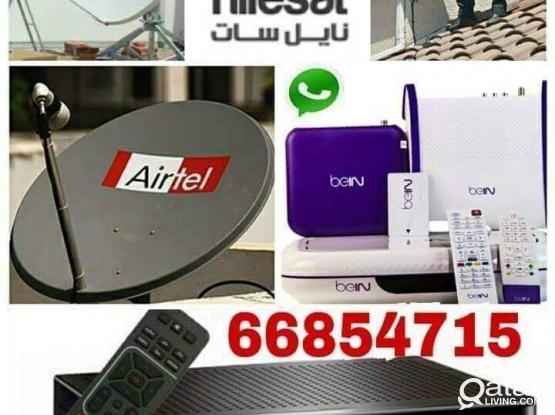 I do any satellite dish tv WiFi installation Airtel Dish, receiver sell.and Electric works , your need installation, just call  whats app me 66854715