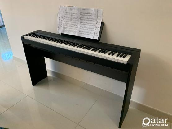 Yamaha P45 digital piano  and stand