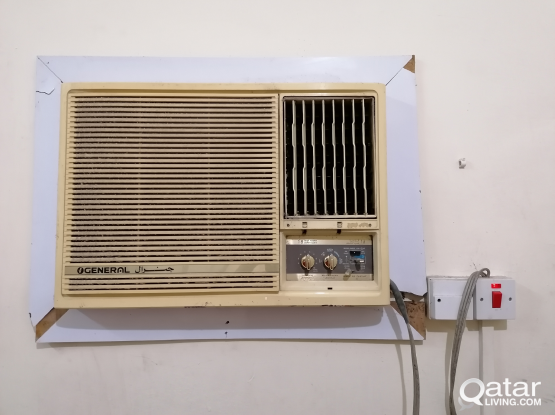 Window type A/C in perfect condition