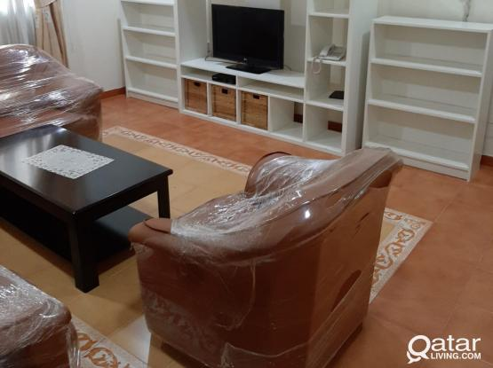 No Commission Fully Furnished 2 Bhk Apartment Old Salatha Behind Al Bustan Hotel