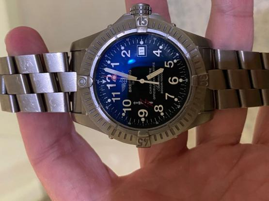 Limited Edition Breitling Avenger Seawolf