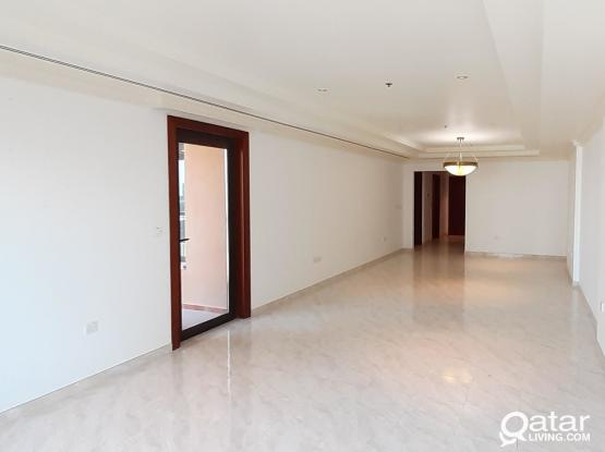SPACIOUS 2 BED SEMI FURNISHED APARTMENT IN PEARL (1 MONTH FREE NO COMMISSION!!!)
