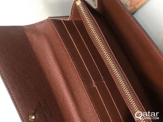 Original preowned LV WALLET