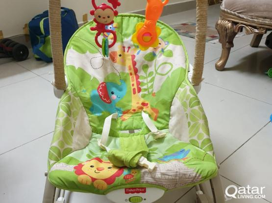 Fisher Price Rocker / Bouncer with music