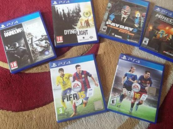 PS4 GAMES IN PERFECT CONDITION