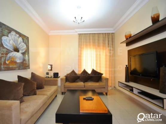 Fully Furnished 3-Bed Serviced Apartments in Najma (HAM1769)