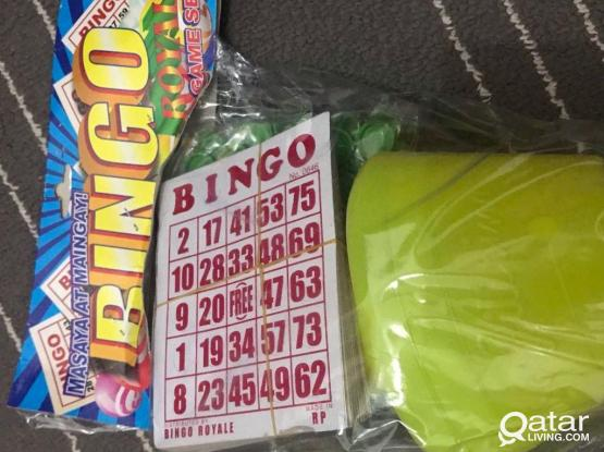 BINGO FOR SALE
