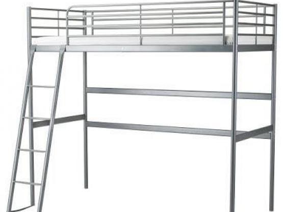 Ikea loft bed with matress