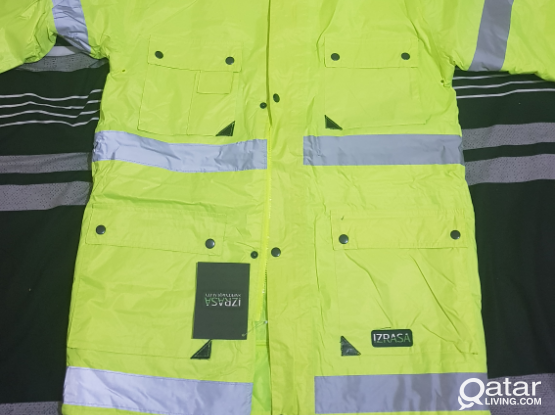 brand new winter safety jacket for sale