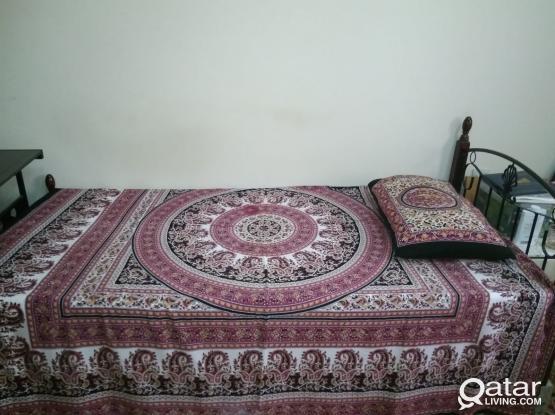 Fully Furnished Bed Space in Ain khalid, Near Al Maha Academy, Behind Safari Hypermarket Salwa Road.