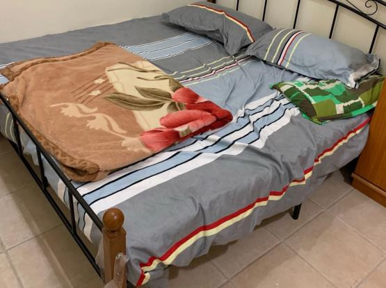 Bed frame and Medicated Mattress