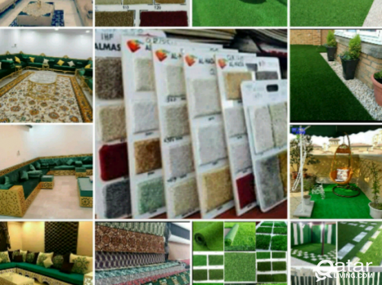 We fix and also provide Carpets & Grass carpets. We provide Plastic, Wood flooring, etc. , Installation and Selling of Carpets 55646914