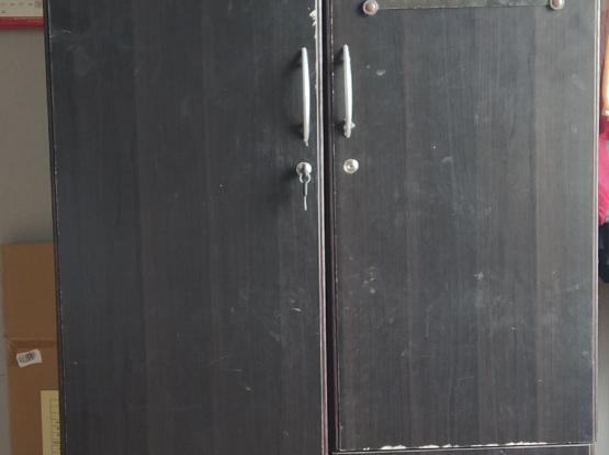 Double door wardrobe for sale