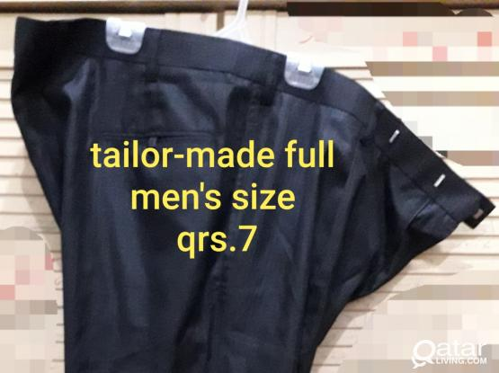 Tailor-made Men's Pants and Boy's Jeans