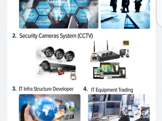 CCTV cameras,CABLING,PABX,TIME ATTENDANCE,,ERP,POS SOFTWARE,WEB DEVELOPMENT,MOBILE APP,,SEO.SOCIAL MEDIA OPTIMIZATION AND CYBER SERCRITY