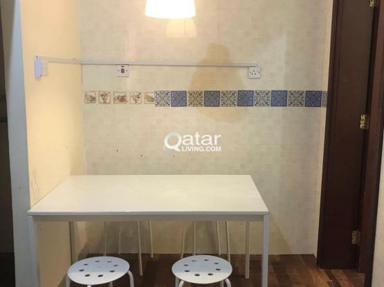 IKEA Dining Table with 4 Stool - Almost New