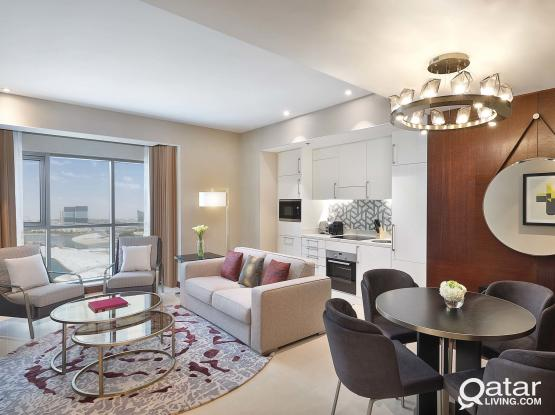 Brand New, Fully Furnished 1 Bedroom