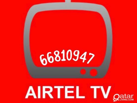 Call 66810947 airtel Satellite dish installation and services nilesat arabsat etc