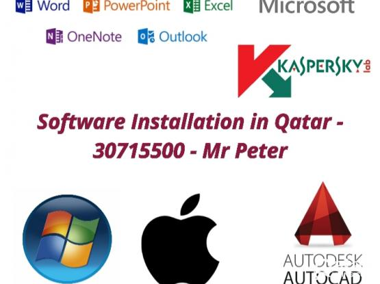 SOFTWARE Genuine Installation in doha - 77628407