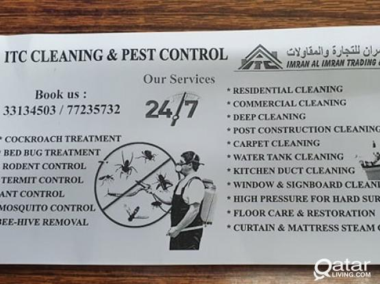 Cleaning & Pest Control Services