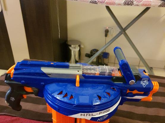 Nerf Hailfire toy