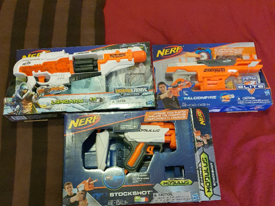 Nerf Toy Guns Assorted