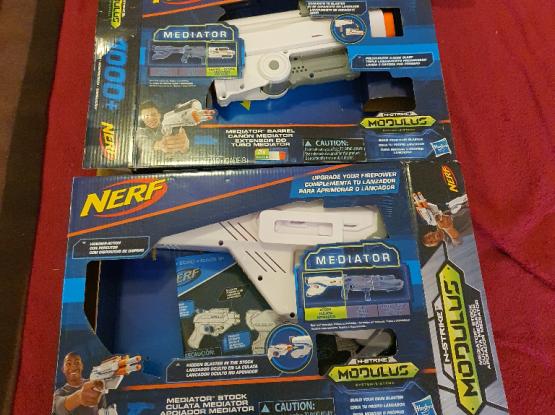 Nerf Mediator toy gun