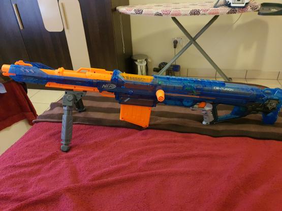 Nerf mega ice centurion toy