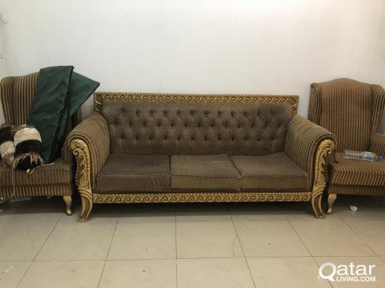 7 Seater SOFA and WADROBE for SALE
