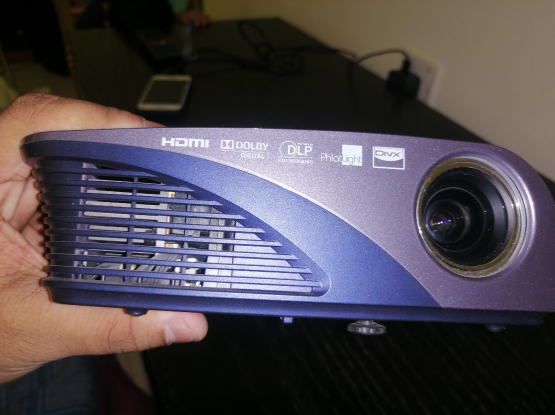 LG projector less used.. For Sale @450