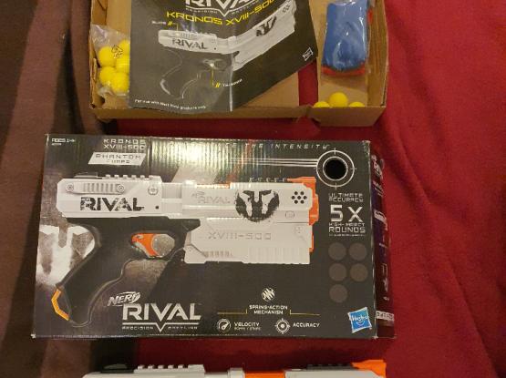 Nerf Rival Kronos toy gun