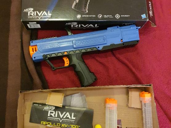 Nerf Rival Apollo toy gun